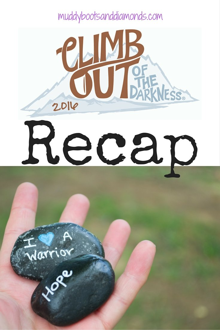 Climb Out of the Darkness 2016 recap