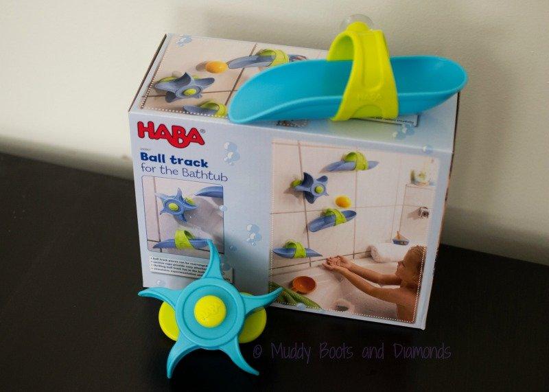 Sustainable Toys from UncommonGoods: track and ball playset via muddybootsanddiamonds.com