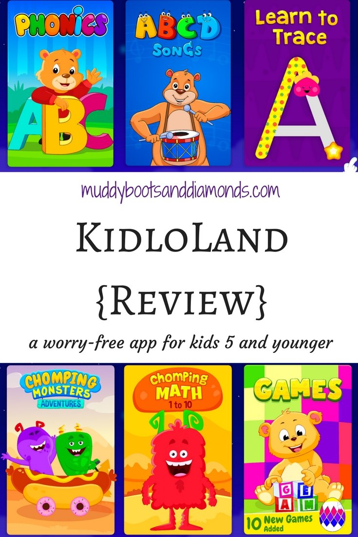 Looking for a kid-friendly, educational app for your child? Check out KidloLand | KidloLand App Review via muddbootsanddiamonds.com