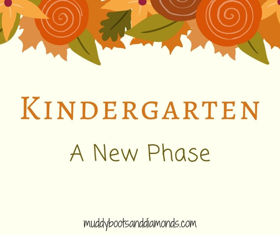 Kindergarten - A New Phase via muddybootsanddiamonds.com