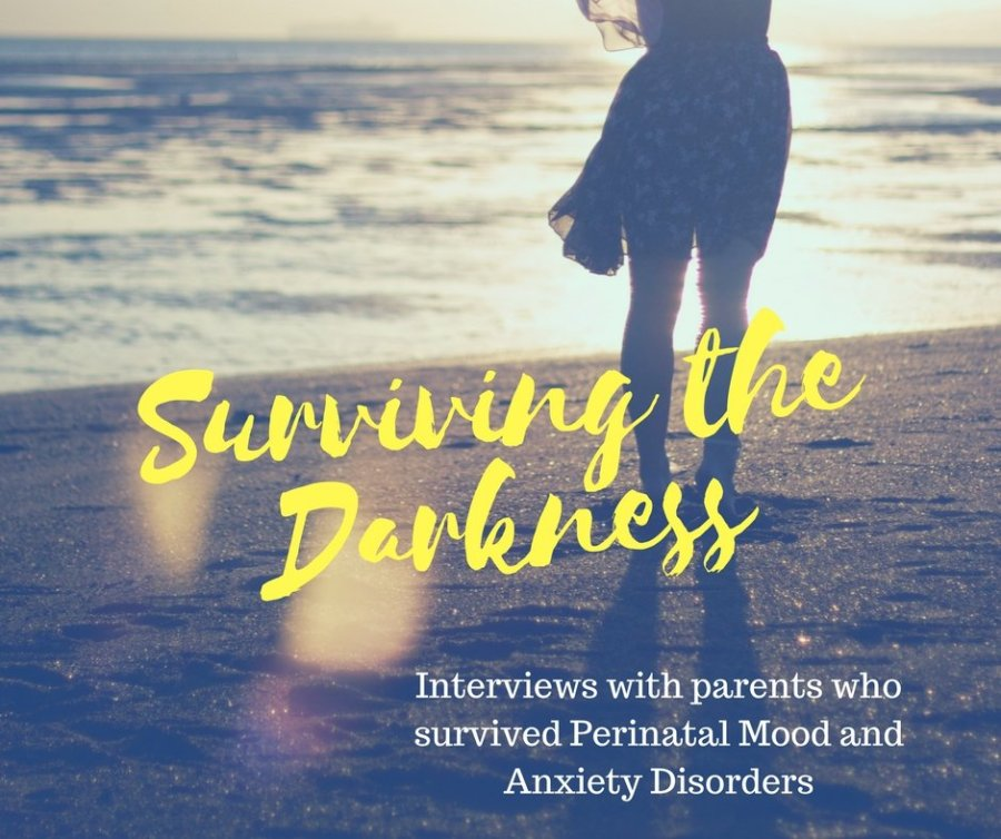 Surviving the Darkness: Interviews with Parents who Survived PMADs via muddybootsanddiamonds.com