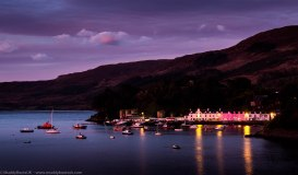 Portree Harbour from Cuillin Hills Hotel