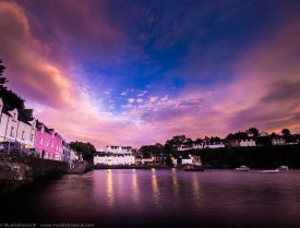 Early morning at Portree Harbour