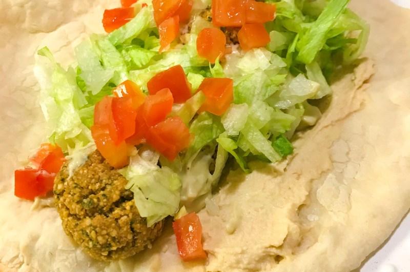 Vegan Falafel Gyro