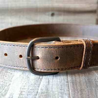 leather gun belt