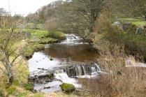 Following the Weardale Way alongside the river Wear