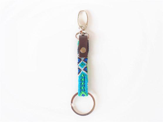 """MUDESO """"COLORFUL KEY"""" Dein exklusiver Schlüsselanhänger aus Nylon und Leder"""