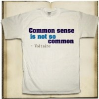 Does common sense still exist?