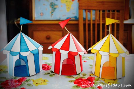 Circus Tents from First Palette