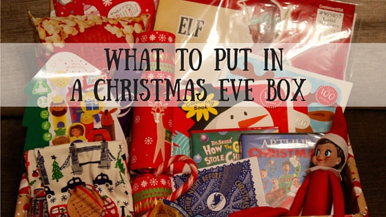 What to put in a Christmas Eve Box  mudpiefridayscom