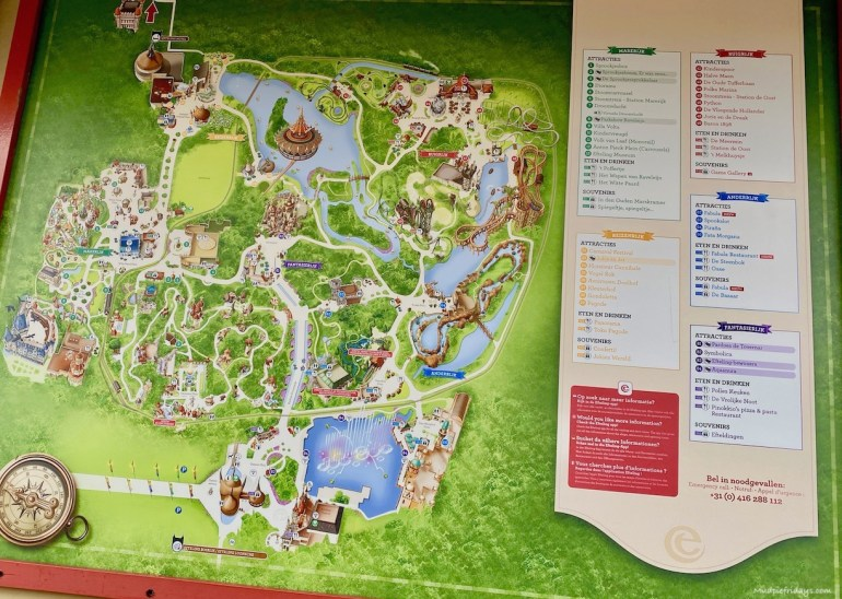 Tips for Visiting Efteling with kids