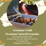 Gramma's GoldPremium Natural Granola