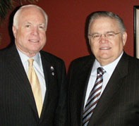 McCain rejects Hagee\'s Endorsement