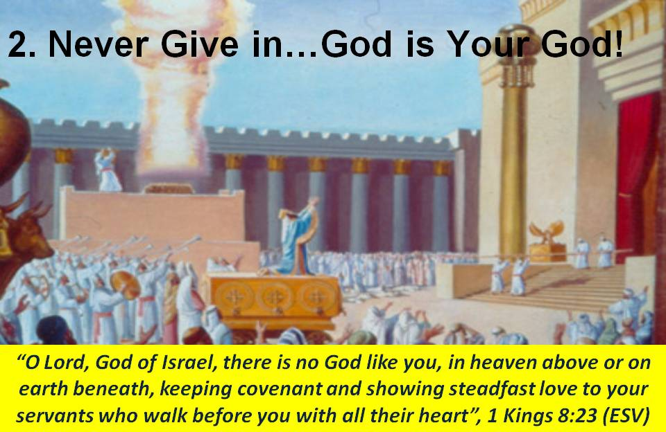 Solomon Dedicates the Temple