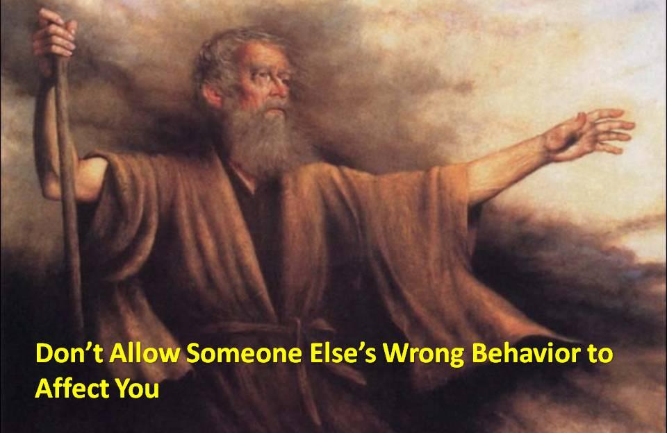 wrong-behavior-not-affect