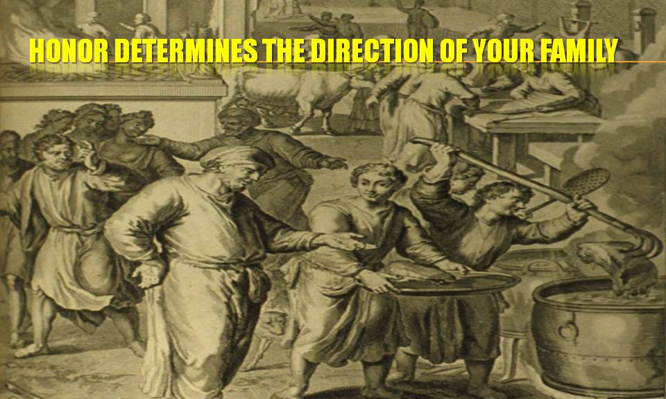 honor-determines-the-direction-of-your-family