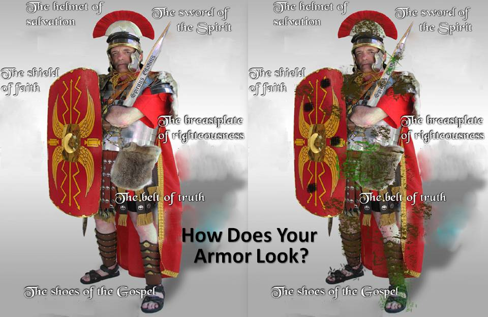 Whole Armor or Holey armor