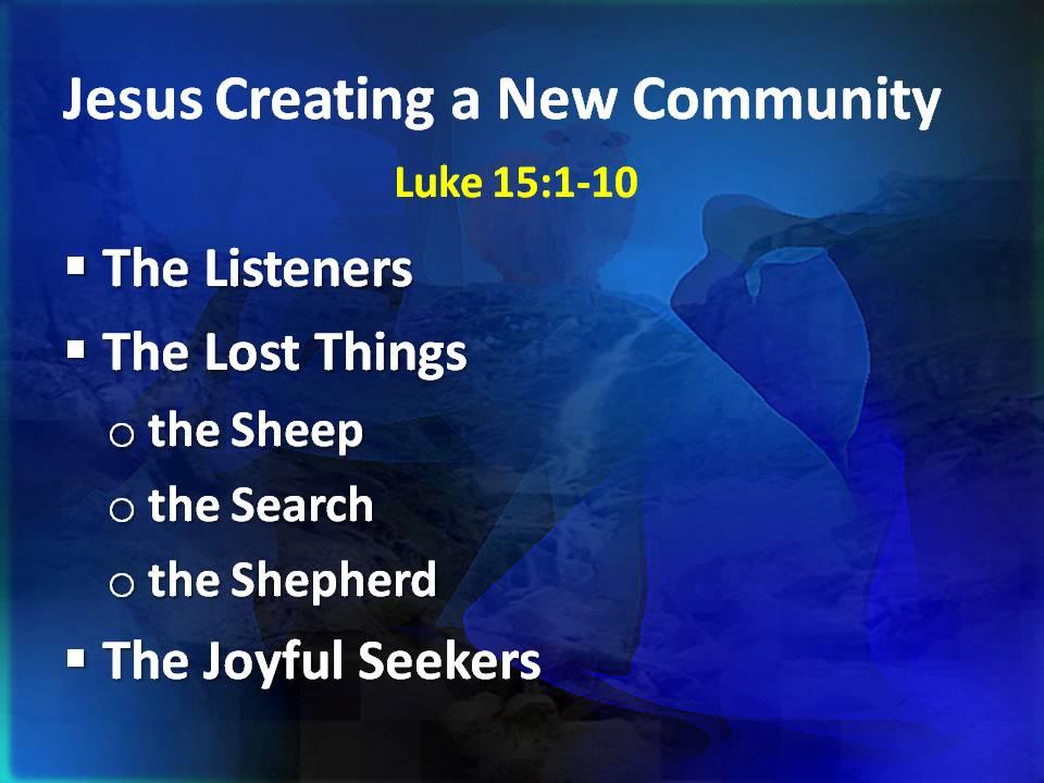 Jesus New Community