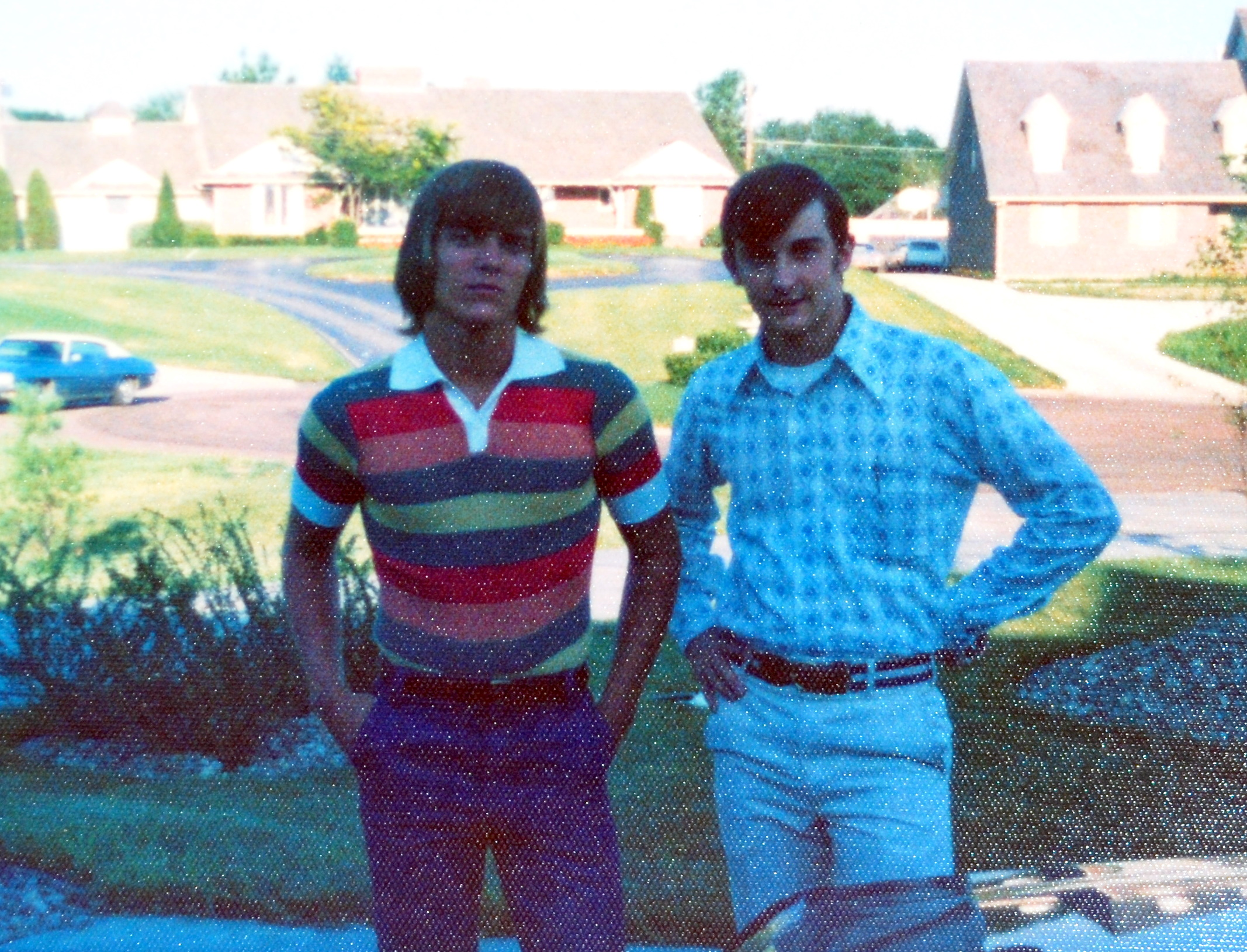 John and Jim off to college