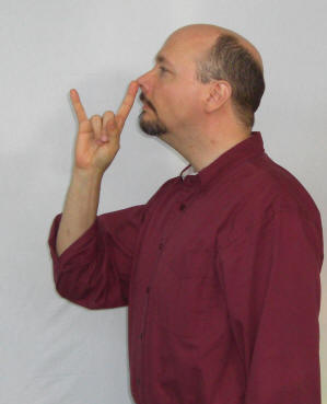 "Sign Language for ""Stuck Up"""