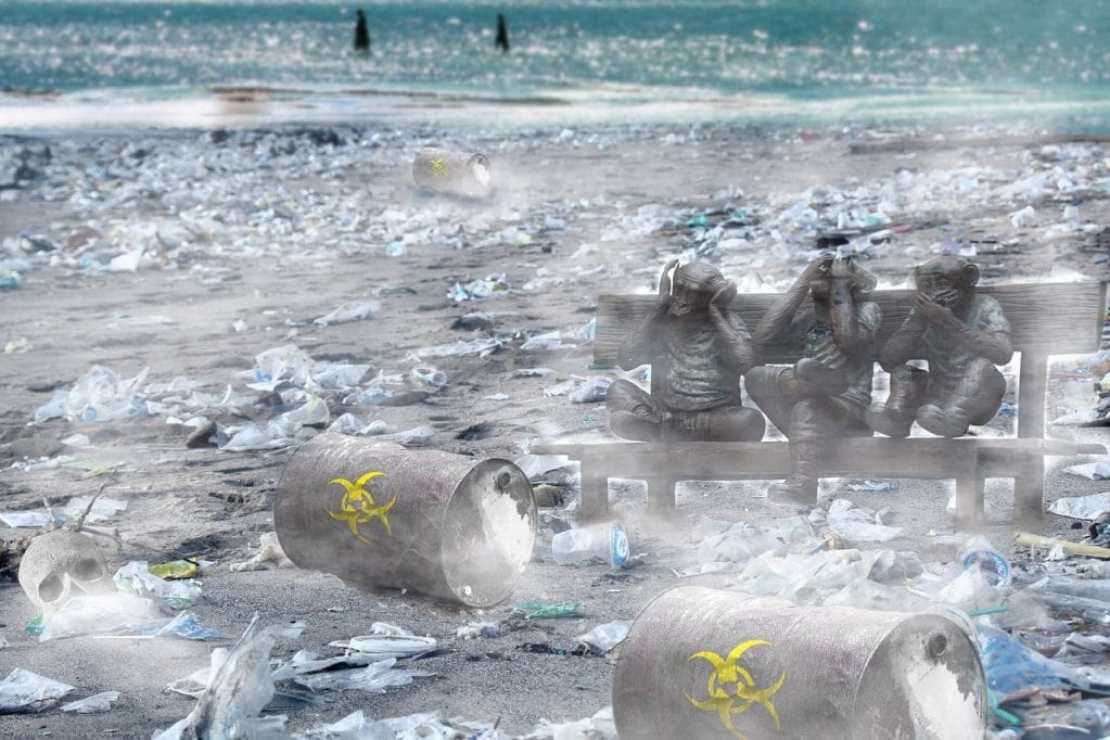 Планета Земля под властью мусора
