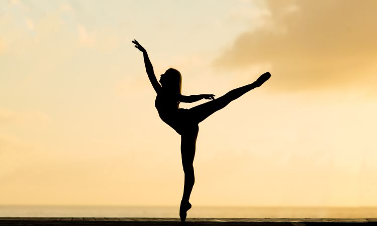 dancer at sunrise