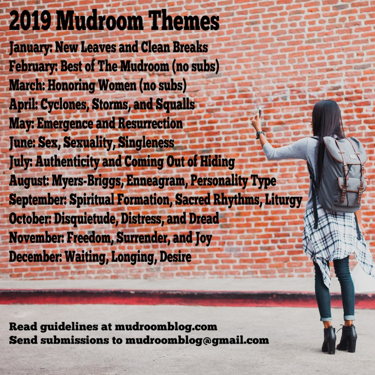 Mudroom News! And Themes!