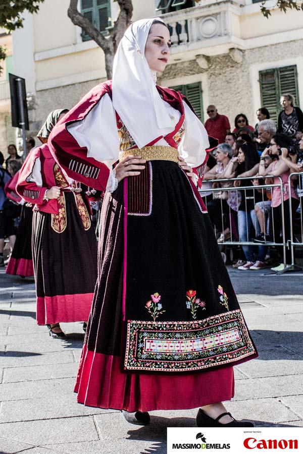 Il Redentore di Nuoro  Sfilata dei costumi tradizionali della Sardegna