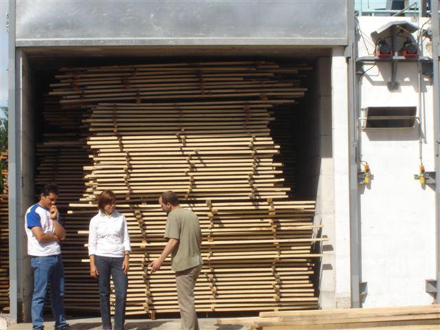Secado de la madera  Mueble Fino