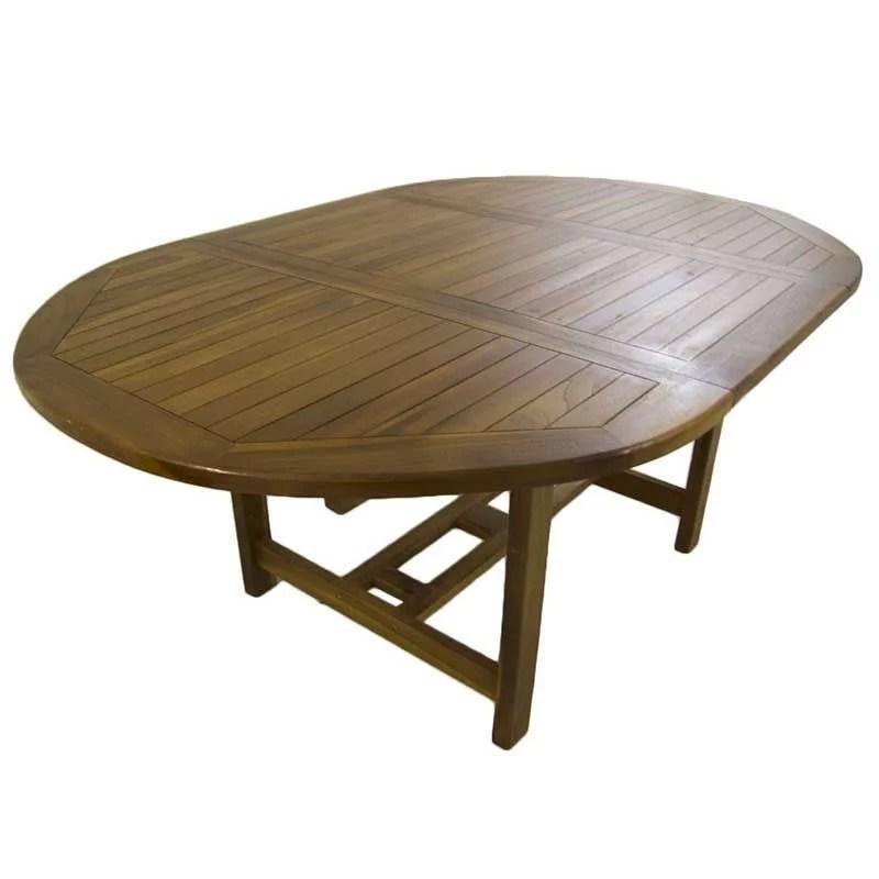 Mesa extensible para jardin Naia