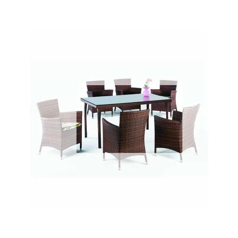 Mesa comedor para terraza 150 Tienda online muebles jardin