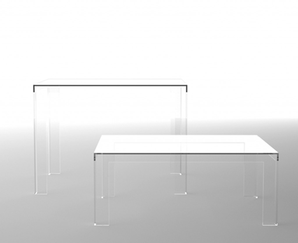 Kartell Muebles Mesa Invisible Kartell Muebles