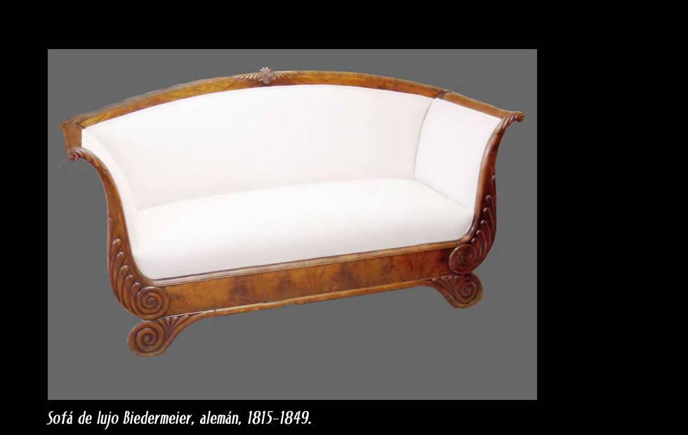 Biedermeier diseo germano siglo 19 muebles de estilo