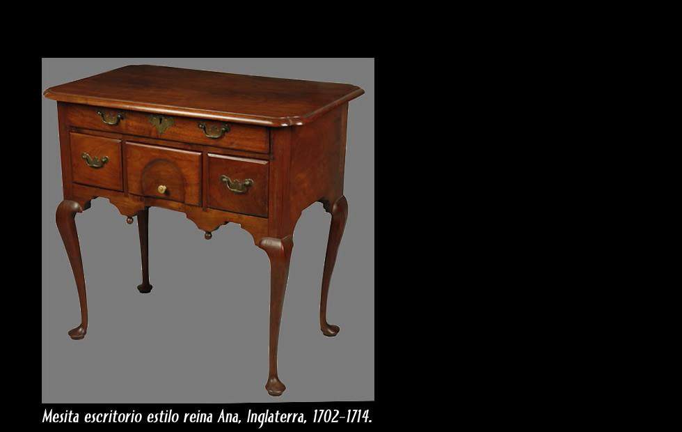 Reina Ana muebles de estilo britnico Queen Ann