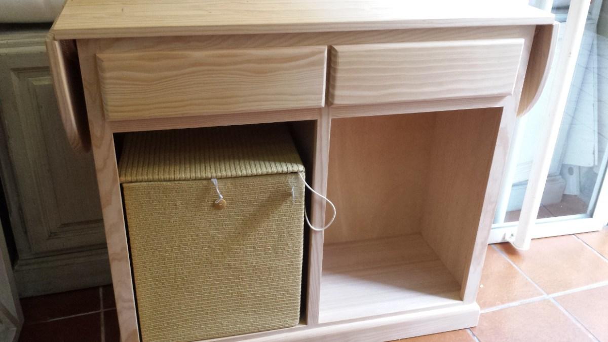 Mueble de plancha en madera de pino  Muebles Artesa