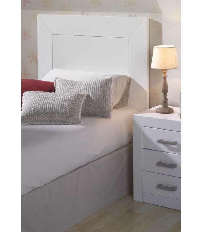 Cabecero 90 Para Dormitorio Y Alcoba Blanco