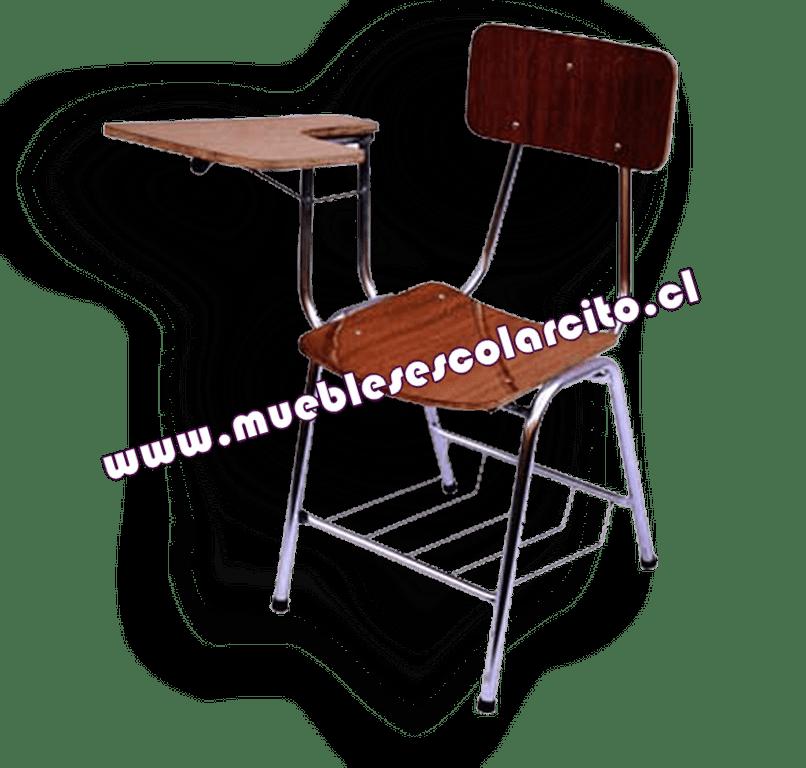 Venta Silla Universitaria Zincada  Muebles Escolarcito