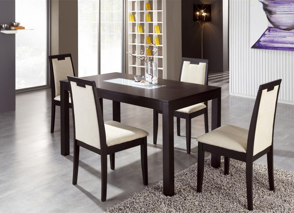 Mesa y sillas wengu  Muebles Franco