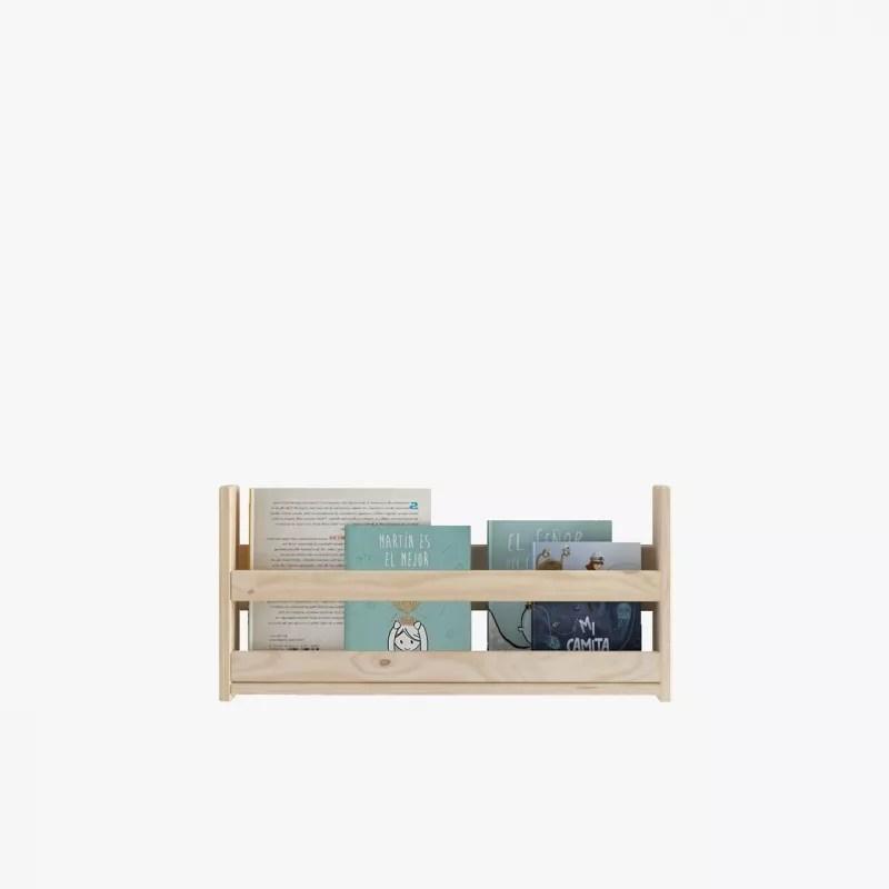Cama nido compacta de hasta tres camas de madera ecolgica