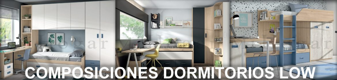 composiciones dormitorio juvenil low