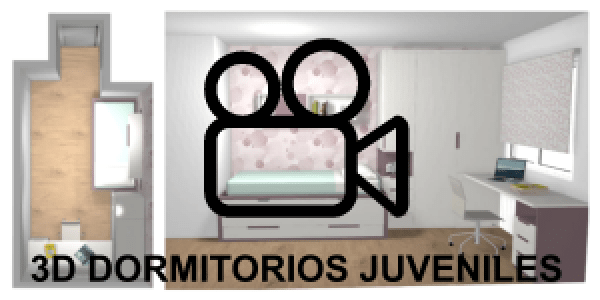 diseño habitaciones juveniles video