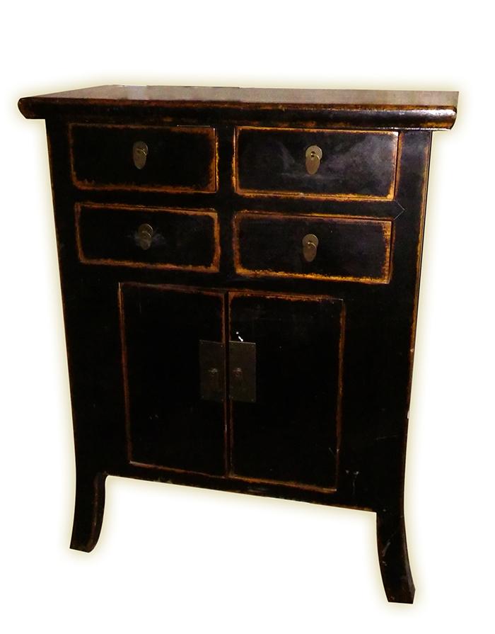 Mueble auxiliar de estilo oriental  Locobaroco