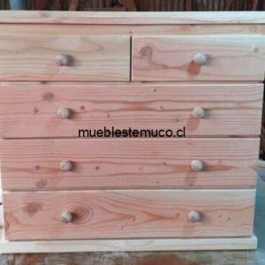 comoda de madera