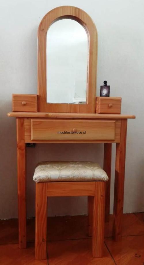 tocador de madera