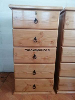 cajonera fabricada con madera