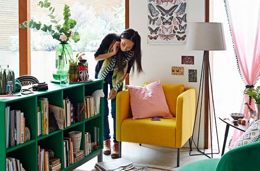 Cmo decorar un saln Ikea nuevos muebles e ideas para esta primavera 2015  mueblesueco