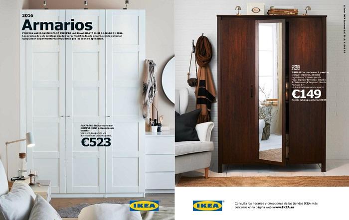 Catlogo armarios Ikea 2016 soluciones prcticas y