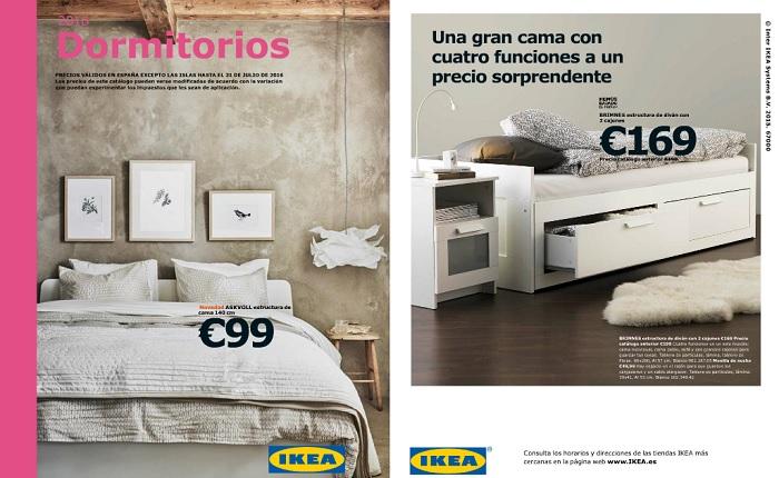 Catalogo Ikea Camas  Cmoda Malm De Color Blanco Ikea