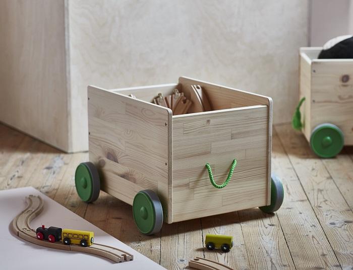 Decorar con las cajas de madera IKEA es tendencia