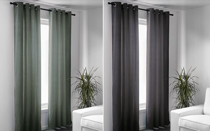 Las cortinas opacas de Ikea para lograr en tus ventanas